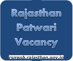 Rajasthan Patwari Vacancy