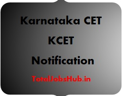 Karnataka CET Notification