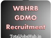 WBHRB GDMO Recruitment