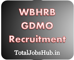 WBHRB GDMO Recruitment
