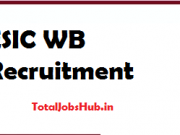 esic wb recruitment