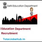delhi education department recruitment