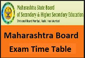maharashtra-board-time-table