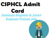 csphcl admit card