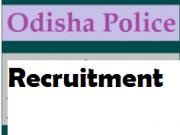 odisha police recruitment