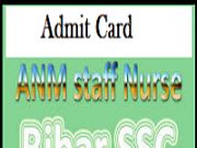 BSSC Staff Nurse Admit Card