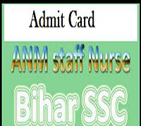 BSSC Staff Nurse Admit Card