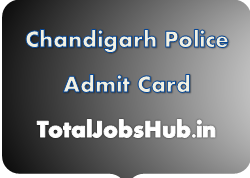 Chandigarh Police Admit Card 2018 Constable PET/PMT Exam Date