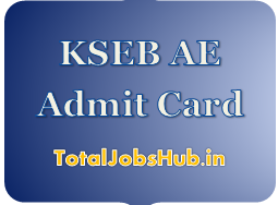 KSEB AE Admit Card