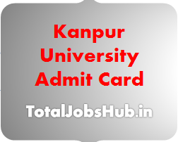 kanpur university admit card