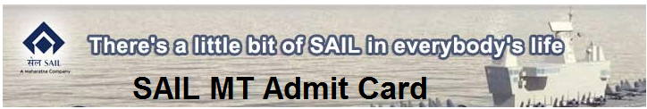 sail mt admit card