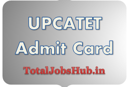 UPCATET Admit Card