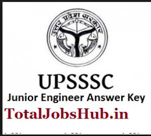 upsssc je answer key