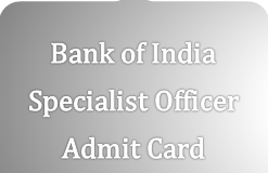 bank of india specialist officer admit card