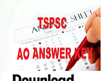 tspsc ao answer key