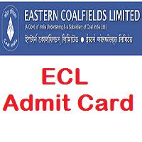 ECL Clerk Admit Card