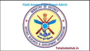 field ammunition depot admit card