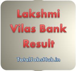 Lakshmi Vilas Bank Result