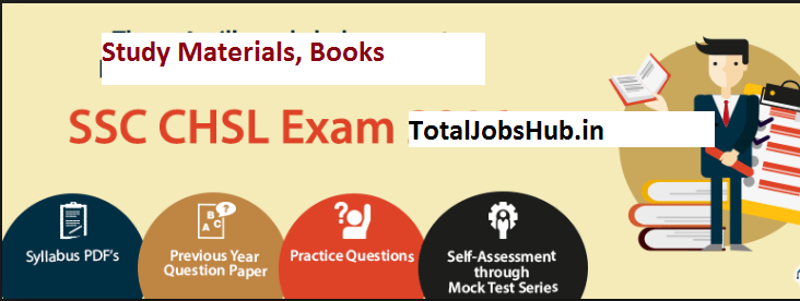 ssc chsl books study materials