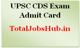 upsc cds 2 admit card