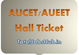 AUCET Admit Card