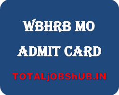 wbhrb medical officer admit card