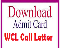 wcl admit card