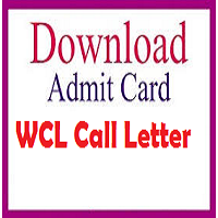 WCL Admit Card 2018 Mining Sirdar/ Surveyor Gr B/ C Exam Date