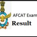 afcat 1 result
