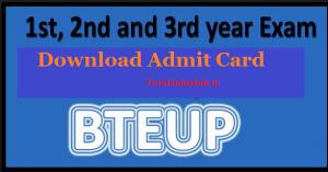 bteup-admit-card