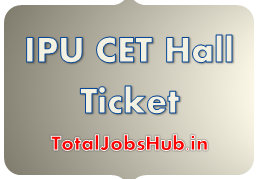 IPU CET Hall Ticket