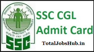 ssc cgl tier 1 admit card