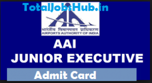 aai junior executive admit card