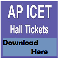 ap icet hall ticket