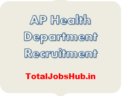 AP Health Department Recruitment