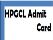 HPGCL Admit Card
