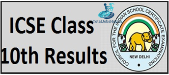 icse board class 10th result