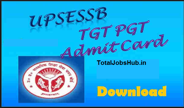 up tgt pgt admit card