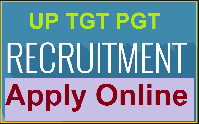 up tgt pgt recruitment