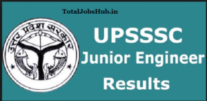 upsssc junior engineer result
