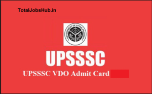upsssc-vdo-admit-card