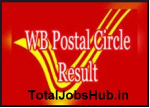 wb postal circle result