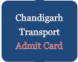 chandigarh transport admit card