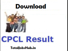 cpcl junior engineer results