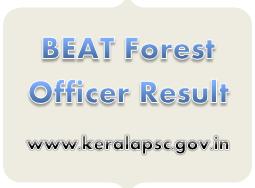 BEAT Forest Officer Result 2018 KPSC Rank List, Merit List