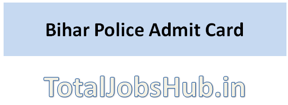 bihar police admit card