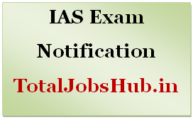 ias exam notification