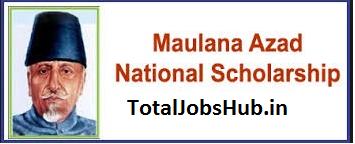 maulana azad national fellowship for minority students