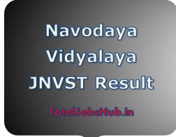 Navodaya Vidyalaya Result