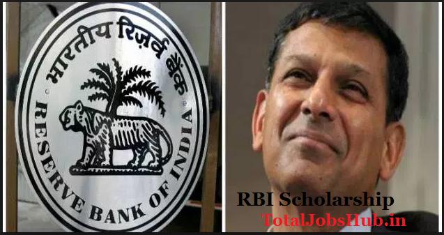 rbi scholarship